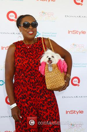 Star Jones and Pinky - The Ovarian Cancer Research Funds Super Saturday 16 at the world famous Garage Sale in...