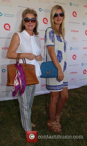 Kathy Hilton and Nicky Hilton
