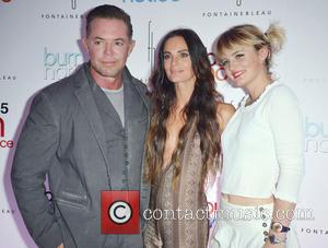 Gabrielle Anwar, Shareef Malnik and Willow Anwar