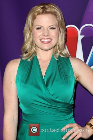 Megan Hilty - NBC TCA Summer Press Tour held at The Beverly Hilton Hotel - Los Angeles, California, United States...