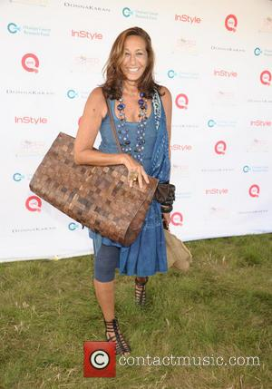 Donna Karan - Celebrities attend the Ovarian Cancer Research Fund's Super Saturday 16 at Nova's Ark - Watermill, NY, United...