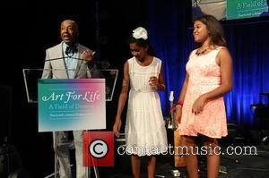 Aoki Simmons, Ming Simmons and Russell Simmons - Russell Simmon's Rush Philanthropic Arts Foundation 14th Annual Art for Life Benefit...