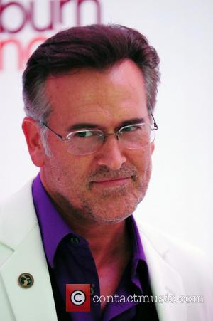 Bruce Campbell - 'Burn Notice' Wrap party at Fontainebleau Miami Beach - Arrivals - Miami Beach, Florida, United States -...