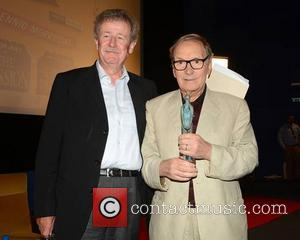 Sir Christopher Frayling and Ennio Morricone