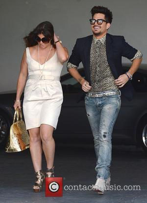 Adam Lambert - Celebrities arrive at SLS Hotel to attend Fergie's baby shower - Los Angeles, CA, United States -...