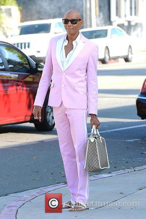 RuPaul and RuPaul Andre Charles - Celebrities arrive at SLS Hotel to attend Fergie's baby shower - Los Angeles, CA,...