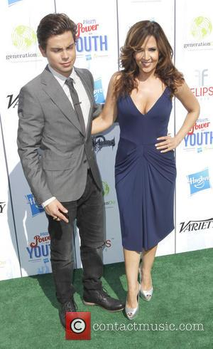 Maria Canals-barrera and Jake T Austin