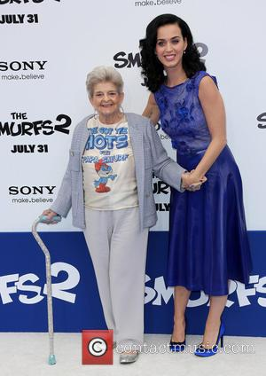 Katy Perry and With Her Grandmother