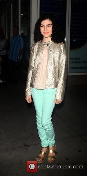 Lilla Crawford - Special screening of 'The Smurfs 2' held at Lighthouse International Theater - Arrivals - New York City,...