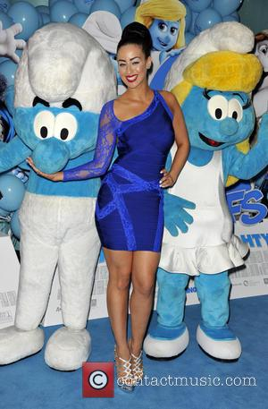 Maria Kouka - The World Premiere of 'Smurfs 2', held at the VUE cinema Leicester Square - Arrivals - London,...