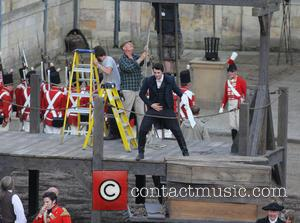 Matthew Goode - The cast of the BBC One's drama 'Death Comes to Pemberley' filming in York. The series is...