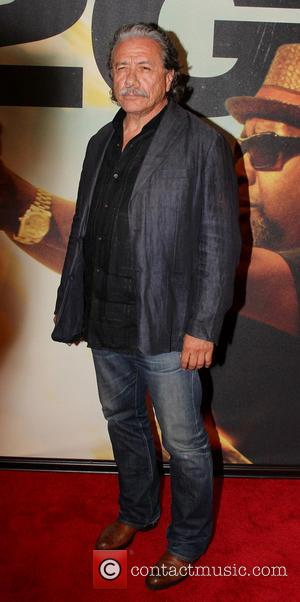 Edward James Olmos - World premiere of '2 Guns' at the SVA Theatre - Arrivals - New York, NY, United...