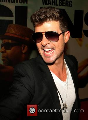 Robin Thicke - World premiere of '2 Guns'