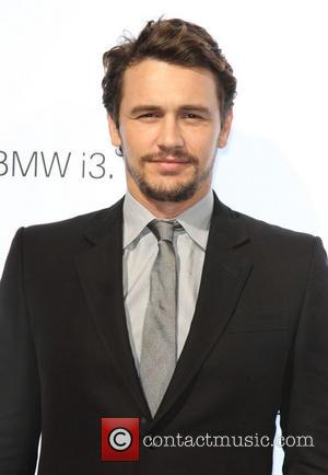 James Franco - BMW i3 global reveal party