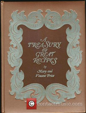Vincent Price and Treasury of Great Recipes by Mary
