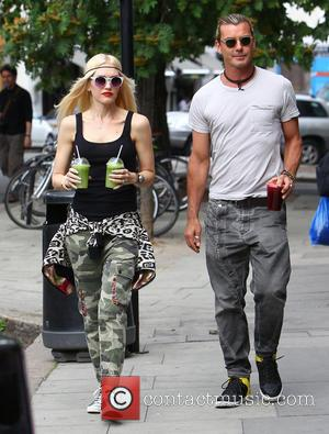 Gwen Stefani and Gavin Rossdale - Gwen Stefani and Gavin Rossdale out and about in north London - London, United...