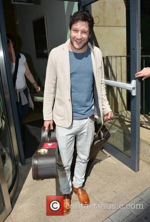 Matt Cardle - Former X Factor winner Matt Cardle spotted leaving Today FM - Dublin, Ireland - Monday 29th July...