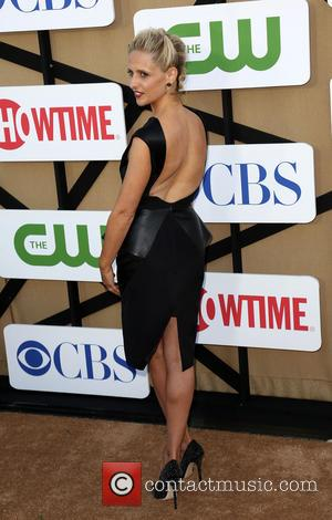 Sarah Michelle Gellar - CW, CBS and Showtime 2013 Summer TCA Party - Arrivals - Los Angeles, California, United States...