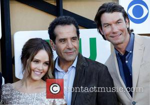 Rebecca Breeds, Tony Shalhoub and Jerry O'connell