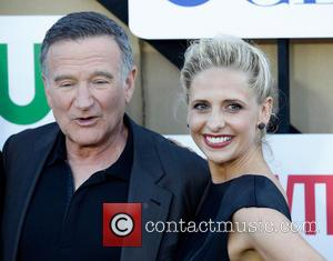 Robin Williams and Sarah Michelle Gellar - CW, CBS and Showtime's 2013 Summer TCA Party - Arrivals - Los Angeles,...