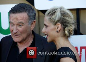 Robin Williams and Sarah Michelle Gellar