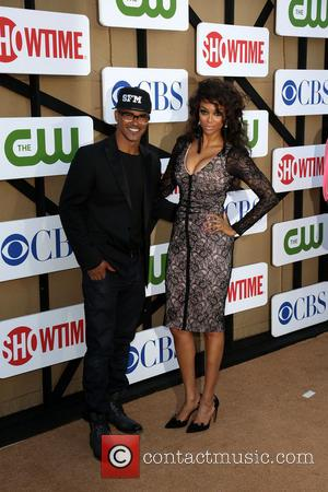 Shemar Moore and Tyra Banks