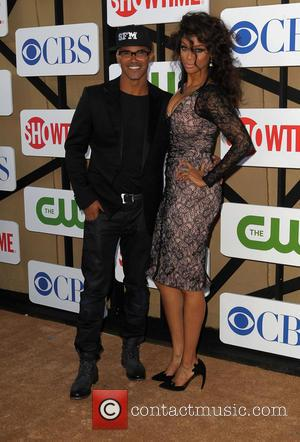 Tyra Banks and Shemar Moore
