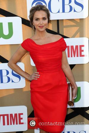 Arielle Kebbel - CW, CBS and Showtime 2013 Summer TCA Party - Arrivals - Los Angeles, California, United States -...