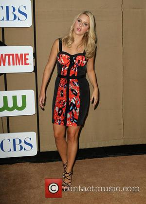 Claire Holt - CW, CBS and Showtime 2013 Summer TCA Party - Arrivals - Beverly Hills, California, United States -...