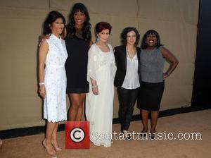 Julie Chen, Aisha Tyler, Sharon Osbourne, Sara Gilbert and Sheryl Underwood