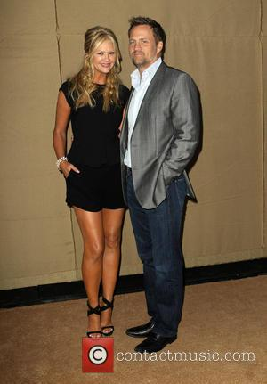 Nancy O'Dell and Keith Zubchevich - CW, CBS and Showtime 2013 Summer TCA Party - Arrivals - Beverly Hills, California,...