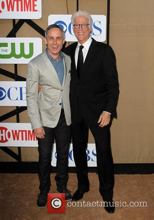Wallace Langham and Ted Danson