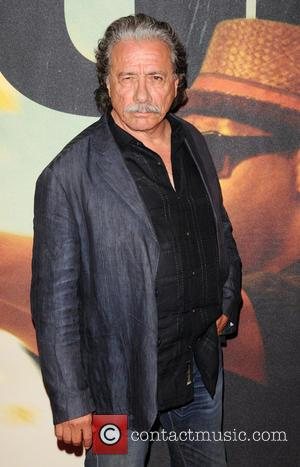 Edward James Olmos - The world premiere of 'Two Guns' at the SVA Theatre - Arrivals - New York, United...