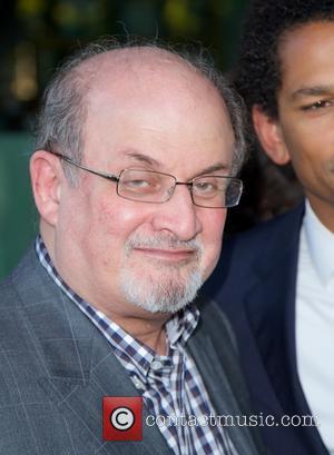 Salman Rushdie - New York screening of 'Elysium' held at Landmark Sunshine Cinema - New York City, NY, United States...