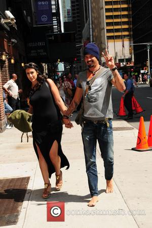 Michael Franti - Celebrities outside the Ed Sullivan Theater for 'The Late Show with David Letterman' - NY, NY, United...