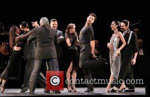 Luis Bravo, Luis Enrique, Karina Smirnoff, Maksim Chmerkovskiy and Cast