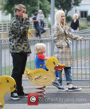 Gwen Stefani, Gavin Rossdale and Zuma Nesta Rock Rossdale