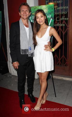 Sebastian Roché and Alicia Hannah