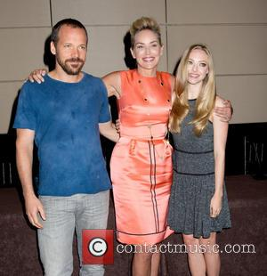 Peter Sarsgaard, Sharon Stone and Amanda Seyfried - NYC