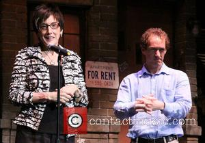 Robyn Goodman and Jeffrey Seller - The 10th anniversary of musical Avenue Q at the New World Stages - Curtain...