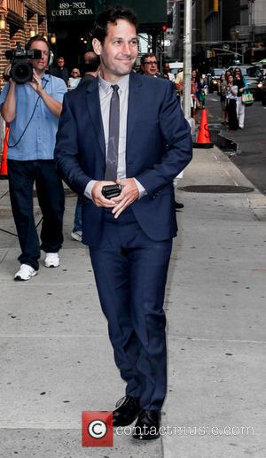 Paul Rudd - Celebrities outside the Ed Sullivan Theater for 'The Late Show with David Letterman' - New York, United...