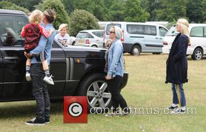 Gwen Stefani, Gavin Rossdale, Kingston Rossdale and And Zuma Rossdale