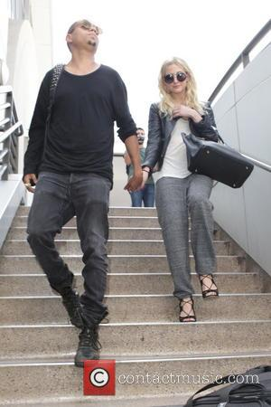 Evan Ross and Ashley Simpson