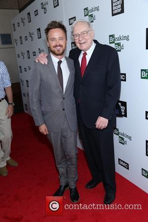 Aaron Paul and Warren Buffett