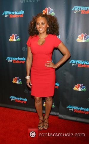 Mel B and Melanie Brown - America's Got Talent at Radio City Music Hall - New York City, New York...