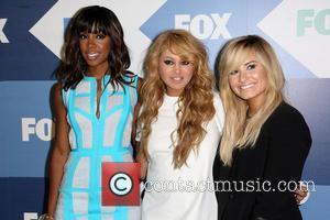Kelly Rowland, Paulina Rubio and Demi Lovato