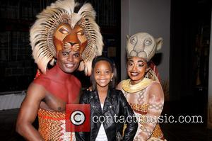 Andile Gumbi, Quvenzhané Wallis and Chantal Riley