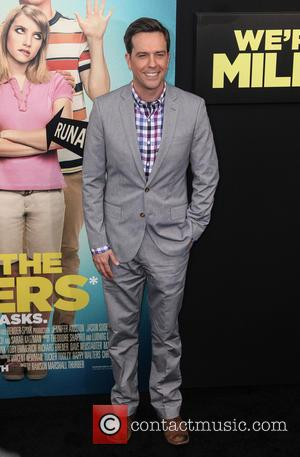 Ed Helms - World premiere of 'We're The Millers' at The Ziegfeld Theater - New York, United Kingdom - Thursday...
