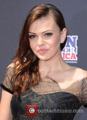 Aimee Teegarden - 2013 Young Hollywood Awards at The Broad Stage - Red Carpet - Los Angeles, California, United States...