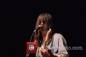 Gabriel Alcala - Metric perform live at the Jackie Gleason Theater - Miami Beach, FL, United States - Thursday 1st...